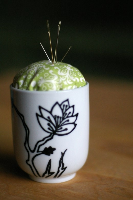 No-Sew Pin Cushion - Sugar & Cloth