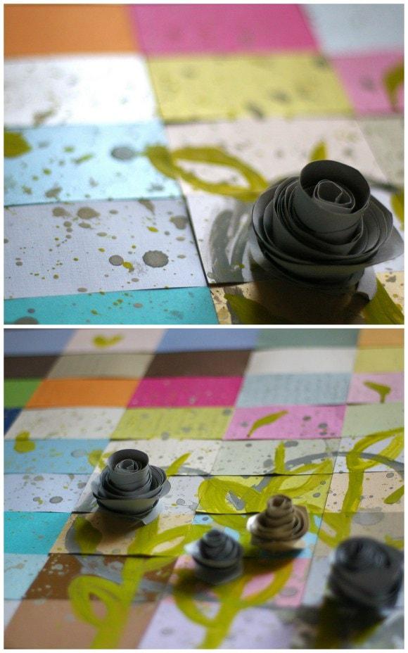 DIY Modern Paper Flowers - Sugar & Cloth