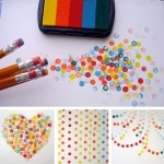 Stamping With Erasers
