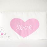 DIY // Love Pillow