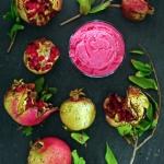 Sweets // Pomegranate Frozen Yogurt