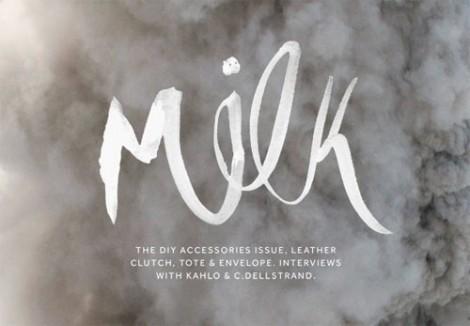 milk magazine app for DIY