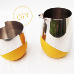 DIY // Color Dipped Coffee Set