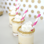 Eats // Salted Caramel Ice Cream Cake Shots