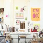 Decor // Artist's Space: Lisa Congdon