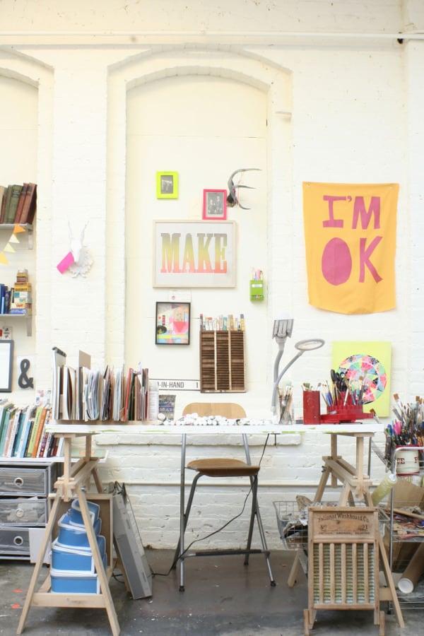 lisa condone artist space decor interiors