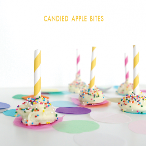 recipe for candied apple bites