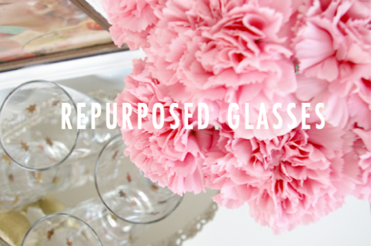 DIY Repurpose Glassware by Ashley Rose of Sugar & Cloth, a top lifestyle blog in Houston, Texas