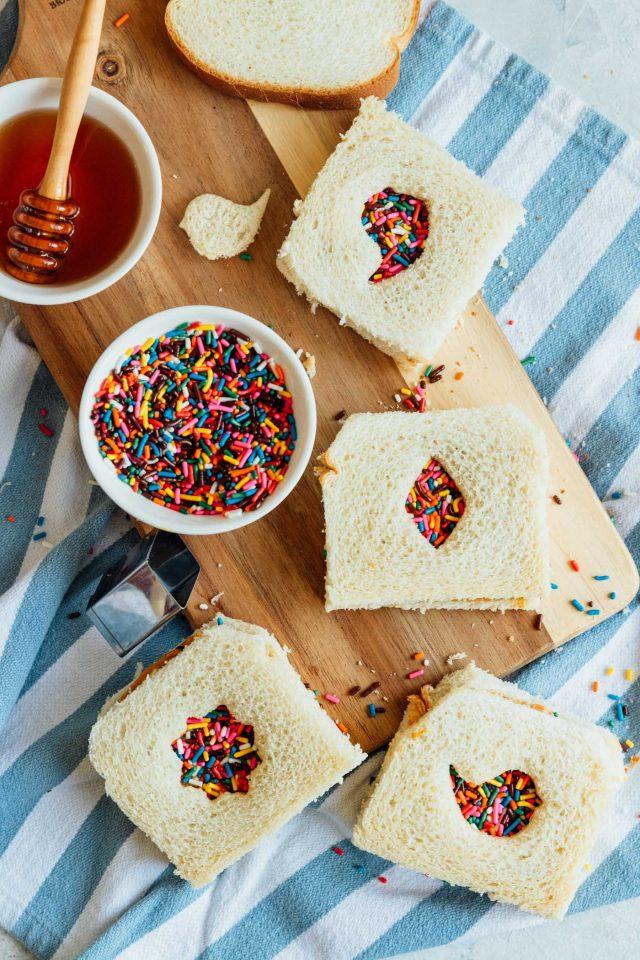 Snack And Lunch Idea: Easy Fairy Bread Recipe