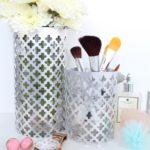 DIY Aluminum Vase Utensil Holders