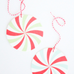 DIY Last minute candy gift tags