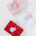 DIY Cute as a button Valentine