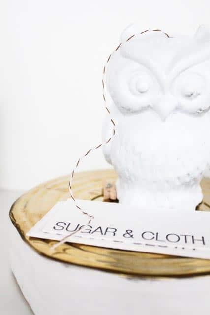 DIY twine holder figurine