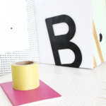 DIY Giant Patterned Magnetic Board