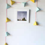 DIY Candy-Filled Geometric Garland