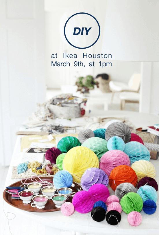 DIY Event at Ikea Houston | Sugar & Cloth - Houston Blogger - DIY - Entertaining - Event