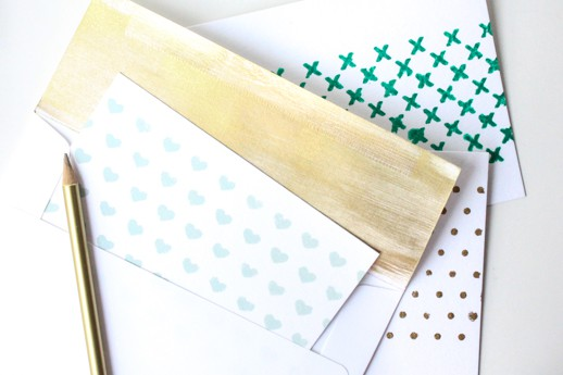 DIY patterned stationary