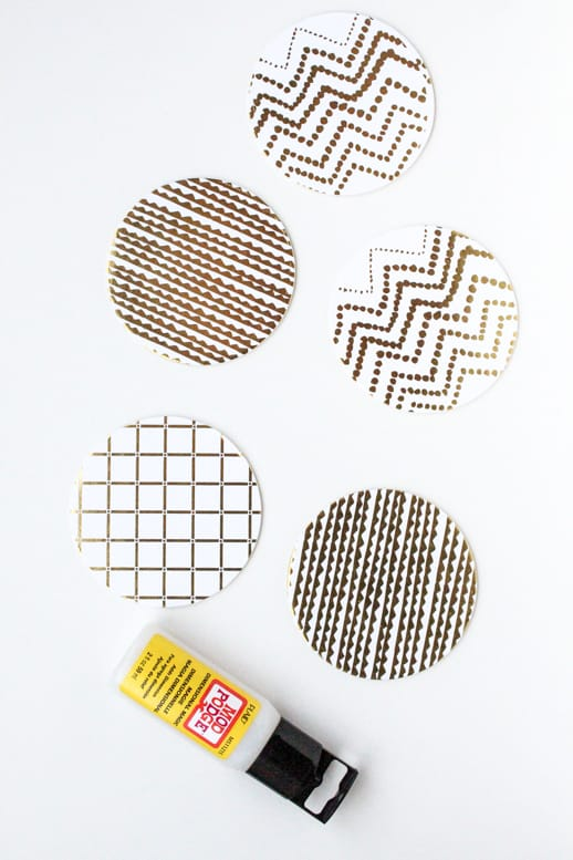DIY Waterproof Paper Coasters and other Paper Pretties - Sugar & Cloth - DIY - Entertaining - Home Decor