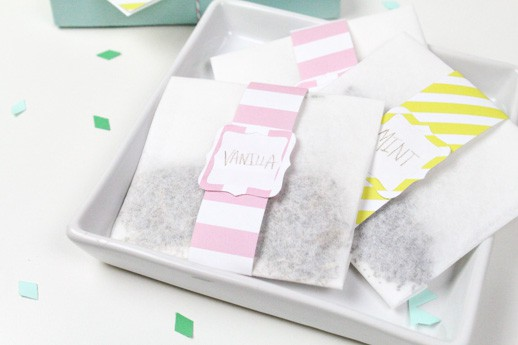 DIY mother's day bath sachets
