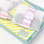 DIY Mother's Day Bath Sachet Gift Set