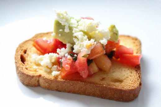 best 5 minute bruschetta you'll ever eat - Recipe - Sugar & Cloth - Houston Blogger