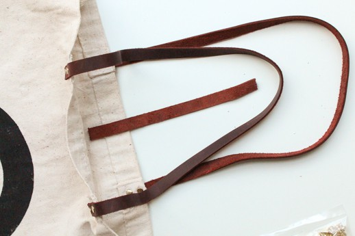 DIY Revamp Any Bag with Leather Straps - Sugar & Cloth - Houston Bloggers - DIY Accessory