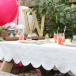 DIY Scalloped Tablecloth