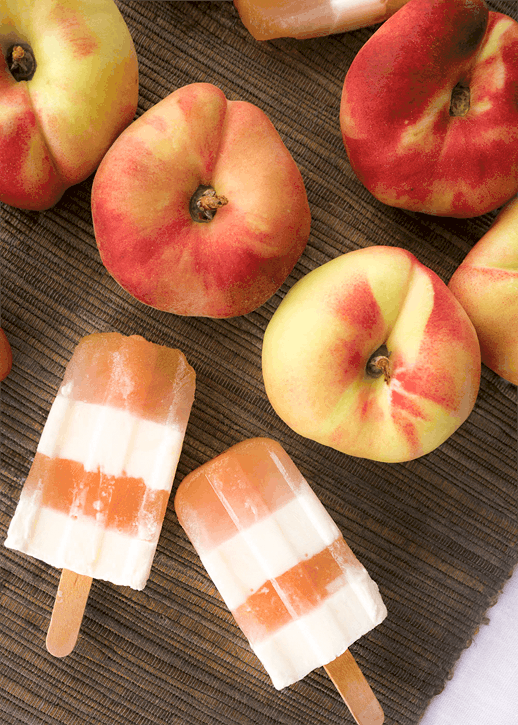 Eats: Peaches and Cream Pops | Sugar & Cloth Recipe