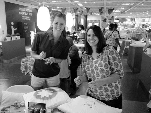 DIY Sequined Hello Pillow and Ikea event recap - Sugar & Cloth - Houston Blogger