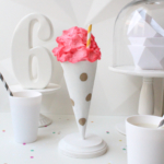 DIY Polka Dot Treat Cones (Trade & Made Challenge)