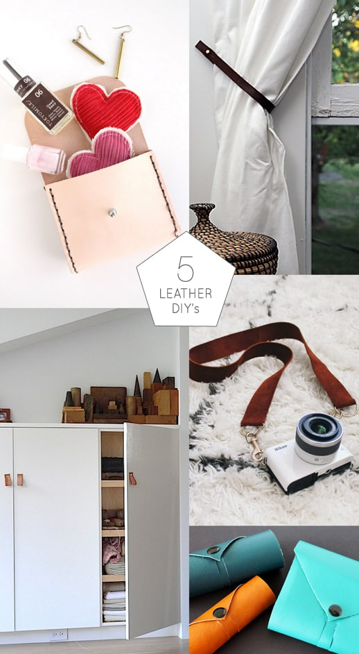 5 Things to Make From Leather