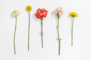 diy floral headpieces by Sugar & Cloth