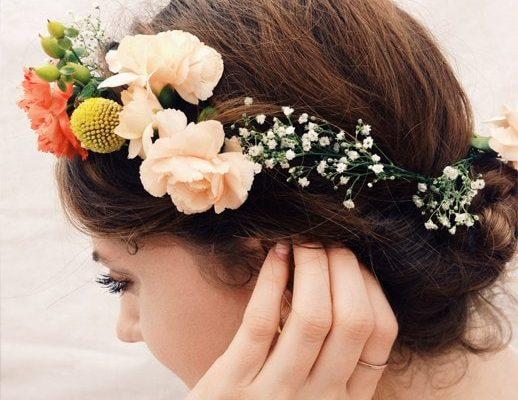 DIY Floral Headpieces - sugar and cloth