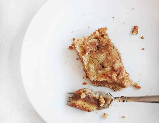 Pumpkin crumb cake - sugar and cloth