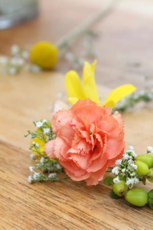 DIY floral headpieces