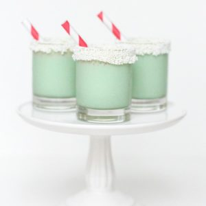 Christmas Cookie Ice Cream Shots - sugar and cloth