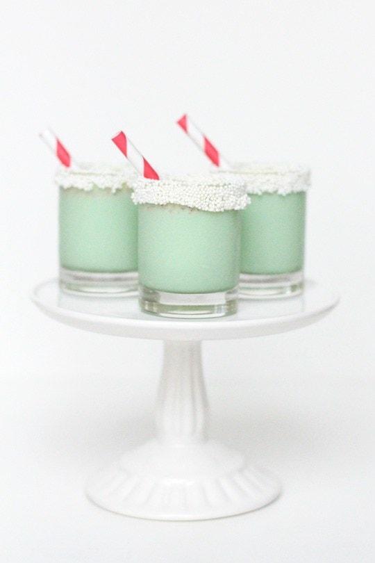 Christmas Cookie Ice Cream Shots - sugar and cloth