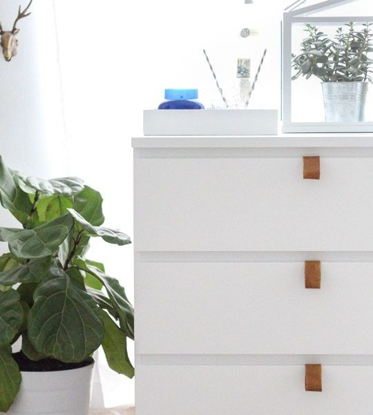 DIY Ikea hack dresser and prepping for guests - sugar and cloth
