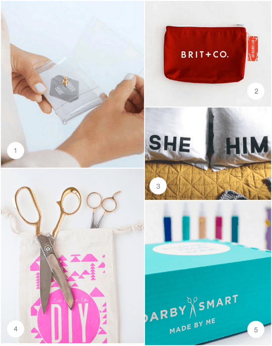 Giving the gift of DIY - Round Up - Gift Guide - Houston Blogger - Sugar & Cloth - DIY