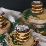 Mini Stout Gingerbread Cakes