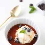 Skinny Caramel Coffee Frozen Dessert