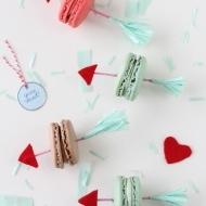 DIY Valentine Arrow Cookie Picks - Sugar and Cloth