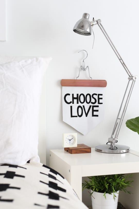 DIY no-sew banner - Sugar & Cloth - DIY