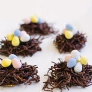 Eggs in a Chocolate Nest! - Sugar and Cloth