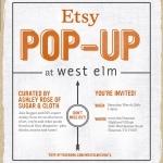 Hosting the Etsy Pop-Up at West Elm Houston!