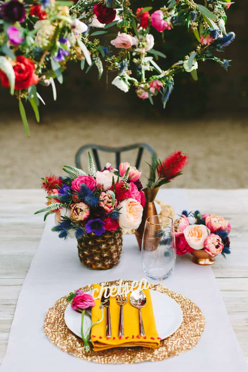 Our floral tablescape in palm springs a palm springs floral tablesacpe mightylinksfo Images