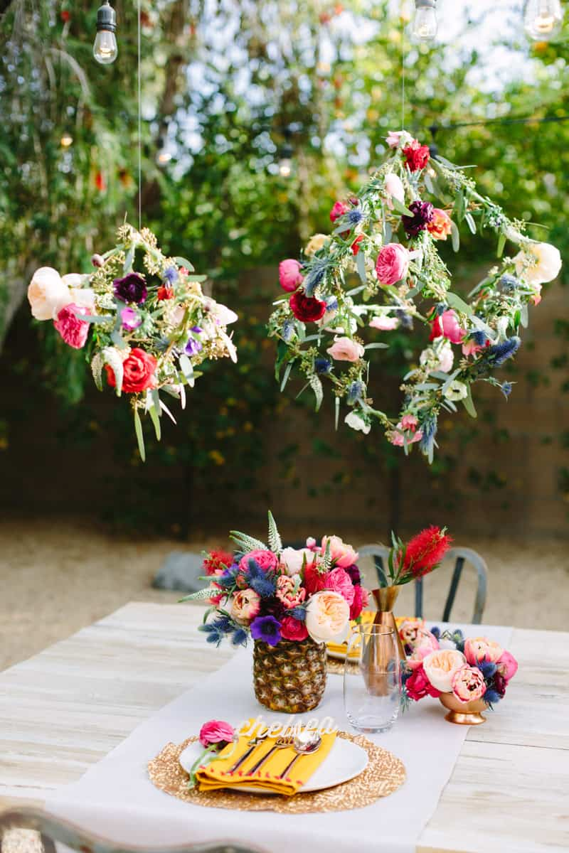Our floral tablescape in palm springs a palm springs floral tablesacpe a palm springs floral tablesacpe mightylinksfo