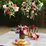 DIY Geometric Floral Pendants