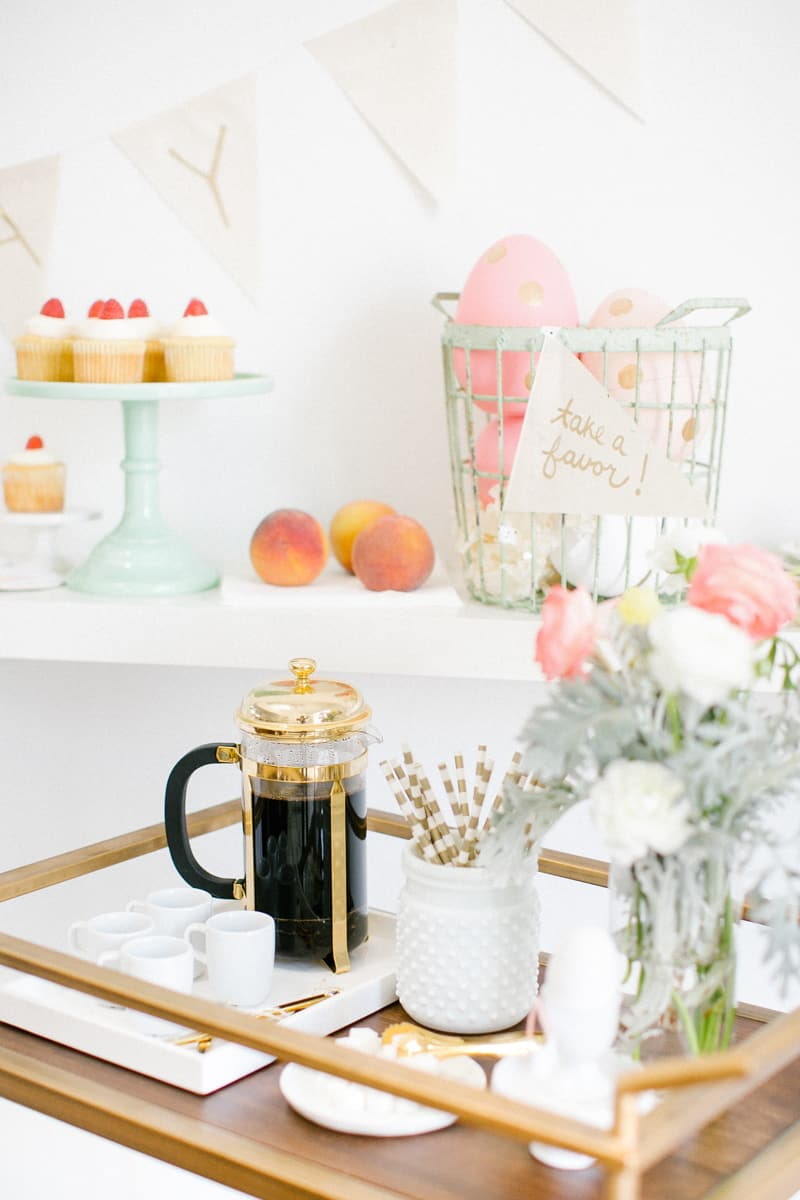 easter dessert table | sugarandcloth.com