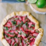 Strawberry Basil Galette